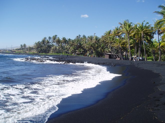 black beaches